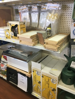 Farm Coop Bee Supply Section
